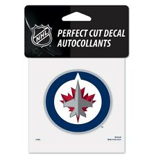 "Winnipeg Jets Perfect Cut 4""x4"" Color Decal [NEW] Auto Sticker Emblem NHL"