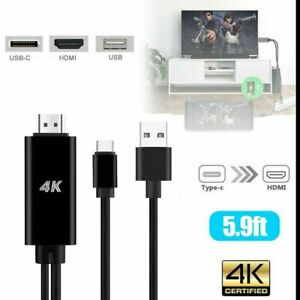 USB-C Type C To HDMI Adapter USB Cable For Tablet MacBook 12 inch 2015 2016 2017