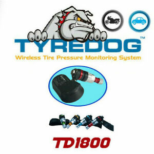 TYREDOG TPVMS TD1800 Replacement Internal Sensor No.1-FL/No.2-FR/No.3-RL/No.4-RR