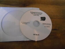 CD Metal Coheed And Cambria - The Running Free (1 Song) Promo SONY BMG disc only