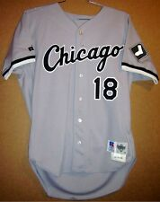 CHICAGO WHITE SOX TERRY BEVINGTON ROAD 1996 BUTTON-DOWN MLB JERSEY