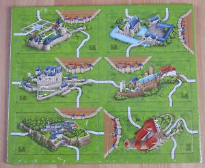 Carcassonne - German Castles | Burgen | Mini Expansion | New | English Rules