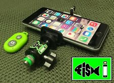 Phone Holder For Fishing Inc Bluetooth Remote.Great For Self Takes/Capture shots