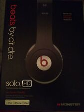 Beats by Dr. Dre Solo HD Headphones Replacement Box   Box Only