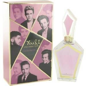 One Direction You and I 100ml EDP Spray Sealed Box Genuine Perfume Rare