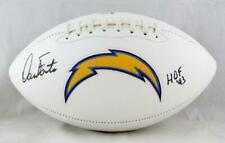 58d984b27d Dan Fouts Autographed San Diego Chargers Logo Football w/ HOF - Beckett Auth