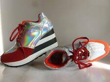 New Sneakers 37/EU size, Sneakers multicolore tg. 37 Rosso Argentato