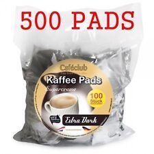 500 Kaffeepads Caféclub Megabeutel Extra Dark EINZELN AROMA -VERPACKT!