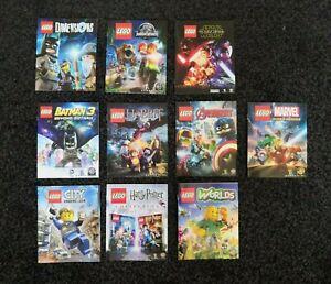 [Manuals] 10 PS4 Lego Manuals [Lego Worlds, Lego City, Lego Harry Potter etc...]