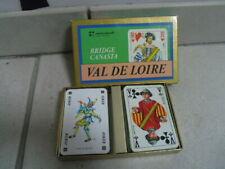 Jeu de carte Bridge Canasta Val De Loire Carta Mundi