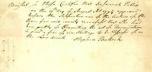 1794 Early Am Doc>SUSANNAH PETTIO GUILTY OF COMMITTING THE ACT OF FORNICATION