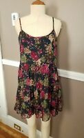 Fabulous Multicolor Sleeveless Floral Dress By Love Culture!! Size Large!!