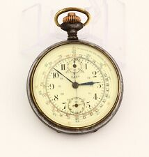 LIP K432 Swiss made vintage chronograph pocket watch with tachymeter scale