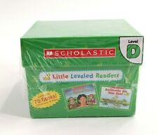 Scholastic Little Leveled Readers Level D 75 Books w/Teaching Guide - Sealed