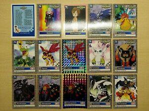 Lotto Digimon Serie Gialla 2, 2000 (35 carte, ITA, EX+) *READ DESCRIPTION*