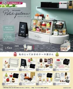 Re-Ment Miniature PATISSERIE Petit gateau Dessert Cake Shop Full Set Rement