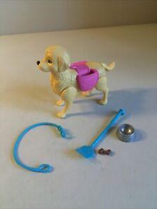 "Barbie Doll Taffy Potty Training 5"" Pooping Dog w/ Accessories"