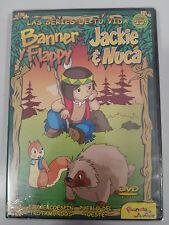 JACKIE & NUCA BANNER Y FLAPPY SERIE TV VOL 15 - DVD 2 CAPITULOS REGION 0 NUEVO