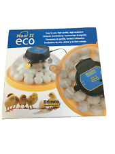 30 Hen Eggs Brinsea Maxi II Eco Incubator Chicks Ducklings Poultry