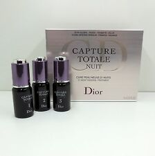DIOR CAPTURE TOTALE NUIT 21 NIGHT RENEWAL TREATMENT SET OF 3*10 ML/0.33 OZ. (D)