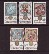 Czechoslovakia MNH 1979 Animals in Heraldry set mint stamps