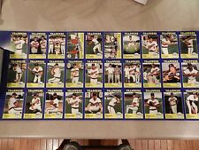 RARE 1988 Salt Lake City Trappers Set Uncut Sheet Bill Murray 2016 Chicago Cubs