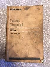 Caterpillar 631C Tractor Parts Manual