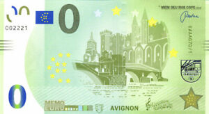 84 AVIGNON Palais des Papes et pont, 2018, Memo Euro Scope