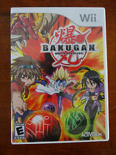 Wii Bakugan Battle Brawlers Game *EUC*