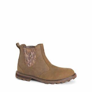 Muck Boot Men'S Leather Waterproof Chelsea Rain Boot