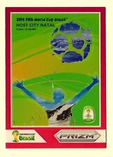 Natal 2014 PRIZM WORLD CUP HOST CITY POSTERS #7 RED 099/149