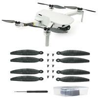 Carbon Fiber Propeller Blade Per DJI Mavic Mini Drone Elica in Fibra di Carbonio
