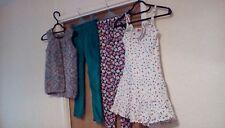 1 robe, 1 Tricot Long gilet, 2 pantalon, 1 robe, Filles 7 ans