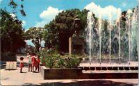 Vintage Postcard In The Revolution Park Guadalajara Jalisco Mexico Unposted