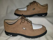 NIKE Air Zoom Engineered Women Size 7 Athletic Shoes Suede Golf Cleats