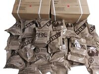 MRE US MILITARY Case A/B 2 Random Draw MEALS READY TO EAT + Free gift (((Nice)))