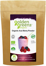 Acai Berry Powder 50g, Organic, Freeze-Dried for Freshness from 1Kg of Acai
