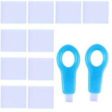 12pcs Pro Nano Teeth Whitening Kit Cleaning Whitener Brush Tooth Stain Remover