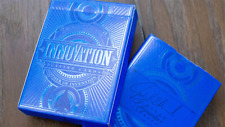 BRAND NEW CARDS - Innovation - Blue Signature Edition Playing Cards by Jody Eklu