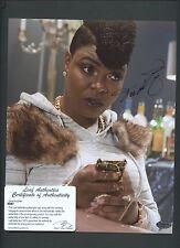 Ta'Rhonda Jones Actress Signed 8x10 Photo LEAF COA AUTO Autograph