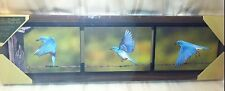 NEW Big Sky Carvers Birds of Happiness Picture Wall Plaque or Table Decoration