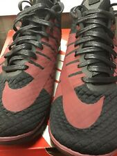 Nike Free Hypervenom 2 FC Traininers Black / Maroon Size 9 New In Box