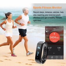 Sports Fitness Activity Tracker Smart Wrist Band Sleep Pedometer Bracelet Watch