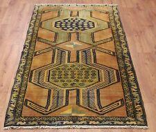Persian Traditional Vintage Wool 205cmX 103cm Oriental Rug Handmade Carpet Rugs