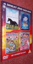 My Little Pony the Original Movie (1986) Water Babies, Black Beauty (1978).. DVD