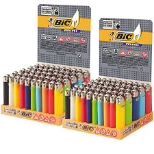 100 ACCENDINI J25 BIC MINI Piccoli COLORATI Pietrina Scatola Box Sigillato