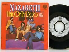 "Nazareth      Hair of the dog  /  Sunshine      Vertigo      7""       NM # B"