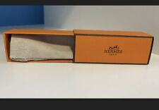 Hermes small orange gift box for a lipstick