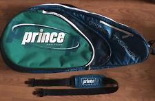 Prince Pro-Tour Sports Tennis Racquet Racket & Balls Carry Storage Gym Court Bag