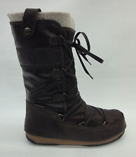 Tecnica Womens W.E. Monaco Mix Moon Boots 24004000 Dark Brown 001 Size 38